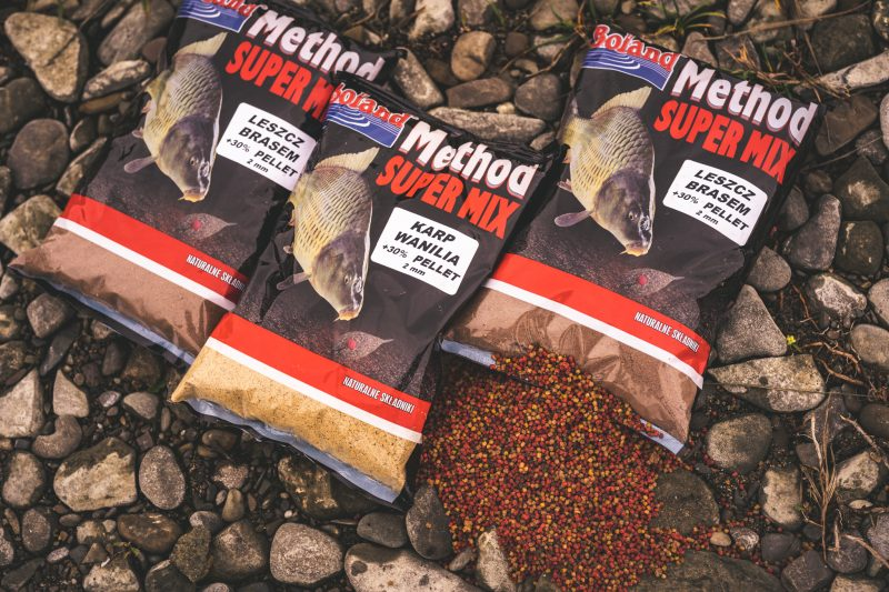 Zanęty METHOD Super Mix z Pelletem